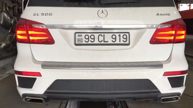 MERCEDES GL500 4 MATİC