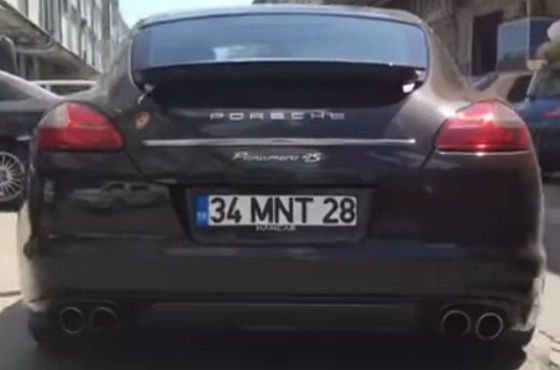 PORSCHE PANEMERA 4S TURBO 4.8 V8